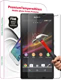Promotional 0.3mm Ultra-thin Tempered Glass Screen Protector for Sony Xperia Z L36h C6602/c6603 with 9h Hardness/perfect Anti-scratch/shatterproof/fingerprint & Water & Oil Resistant (Sony Xperia Z L36h C6602/c6603)