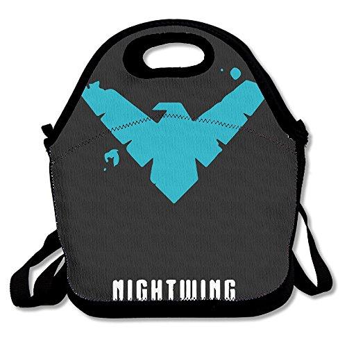 NaDeShop Nightwing Minimlist Poster Lunch Bag Tote