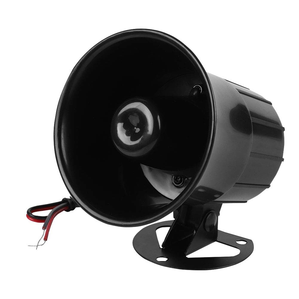 DC 12V Wired Alarm Loud Horn Siren for Home Security Protection System Indoor/Outdoor Fireproof 115dB Sonew