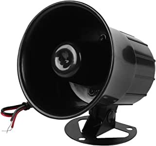 Alarma Cableada DC 12V, Sirena de bocina ruidosa Sistema de Alarma de Seguridad para el hogar, 115dB bocina Alarma zumbador