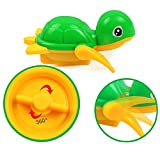 Wesracia Baby Wash Play Cartoon Pull Toy Baby Shower Toy Educational Toys (random, B)