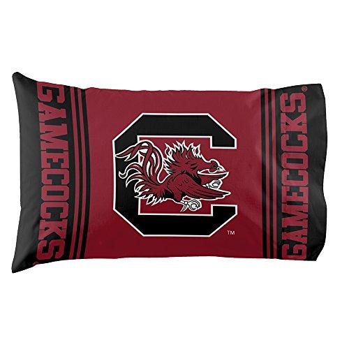 The Northwest Company NCAA South Carolina Gamecocks Pillowcase Setpillowcase Set, Red, One Size