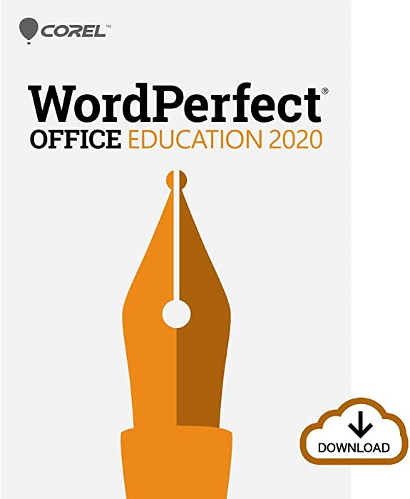 Corel WordPerfect Office 2020 Education | Word Processor, Spreadsheets, Presentations [PC Download]