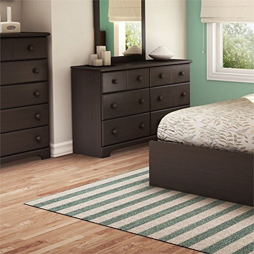 South Shore 6-Drawer Double Dresser