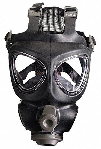 Scott(TM) M110 CBRN Mask,Port,M/L