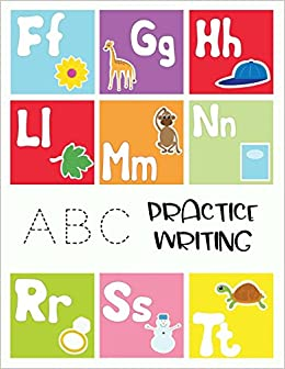 Amazon.com: ABC Practice Writing: Letter Tracing Practice ...