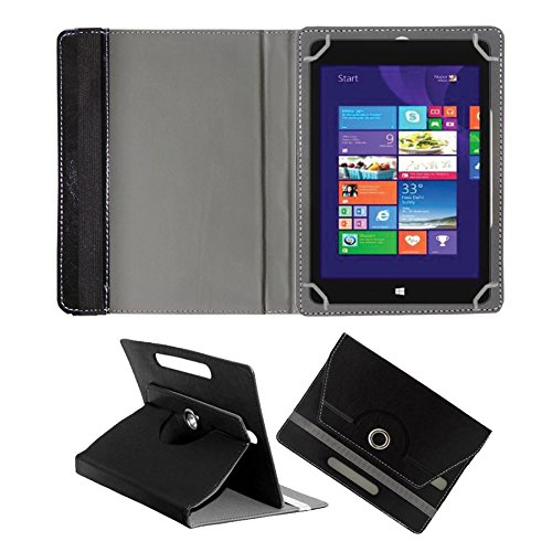 Fastway 360 Degree Rotating Tablet Book Cover Alcatel OneTouch Pixi 3 10 Inch Tablet Black