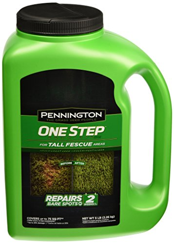 Pennington Seed 100522282 One Step Complete Tall Fescue Mix, 5 - Seed One Mix