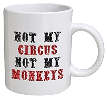 funny office mugs. simple funny funny mug  not my circus not monkeys office 11 oz coffee for office mugs f