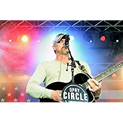 Trace Adkins, country music singer, performs during a concert for a ten-day USO tour April 20, 2015,