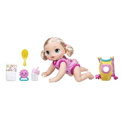 Baby Alive Baby Go Bye Bye Doll - Blonde Guaranteed Quality: Toys & Games