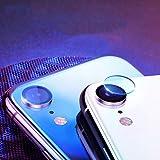 Wenjuan 5PC Non-Porous Tempered Glass Protector Camera Film Lens Premium Anti-Scratch for iPhone XS/iPhone xs max/iPhone XR/iPhone 9 (for iPhone XR 6.1 inch)