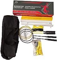 Slazenger 4-Player Badminton Set, Multi