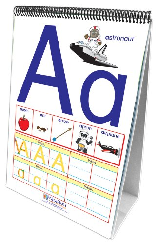NewPath Learning Alphabet Curriculum Mastery Flip Chart Set, Early Childhood
