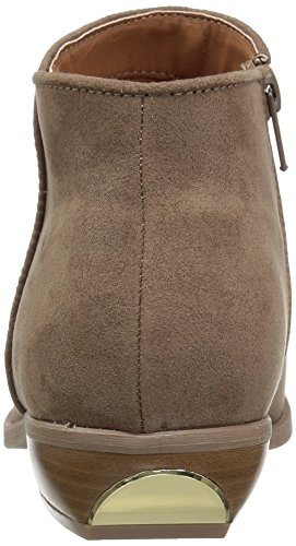 Polyurethane Sue Bootie 01 Vino Qupid Women's Taupe Ankle fwY001
