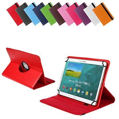 Bralexx Universal Tasche für TrekStor SurfTab wintron 10.1 / Volks-Tablet 10.1 (26,3 cm (10 Zoll)) rot