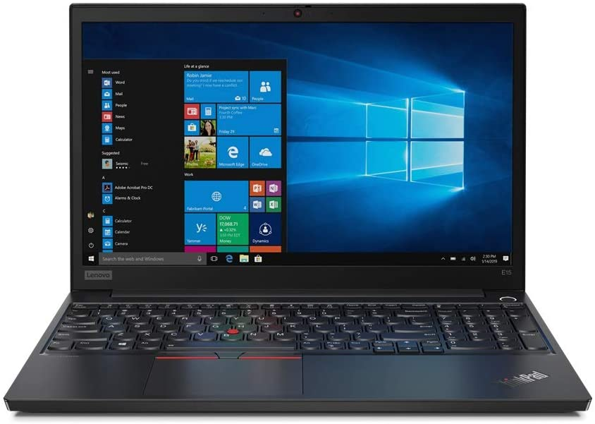 "Lenovo ThinkPad E15 15.6"" FHD (1920x1080) IPS Anti-Glare Display - Intel Core i5-10210U Processor, 16GB RAM, 512GB PCIe-NVMe SSD + 500GB Hard Drive, Windows 10 Pro 64-bit"