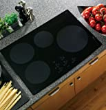 "GE PHP900DMBB Profile 30"" Black Electric Induction Cooktop"