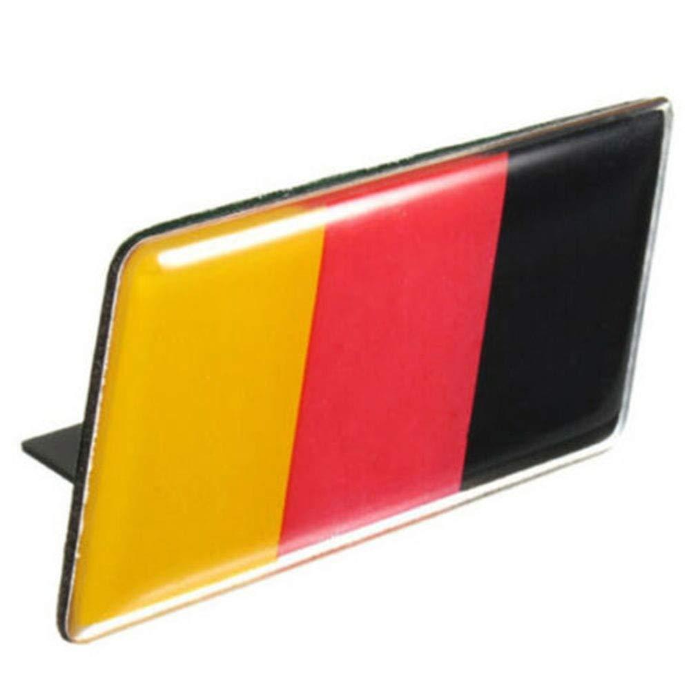 Onetek Deutsch Deutschland Flagge Abzeichen Gitter Emblem Auto Aufkleber Aufkleber Universal Dekoration