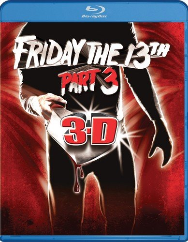 Blu-ray : Friday the 13th Part 3 (Widescreen, AC-3, True-Hd, Mono Sound)