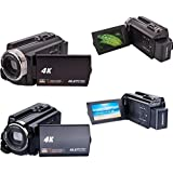 Nacome HDV-534 WiFi 4K Camera Digital Night Vision 48MP HD DVR HDMI Video Camcorder