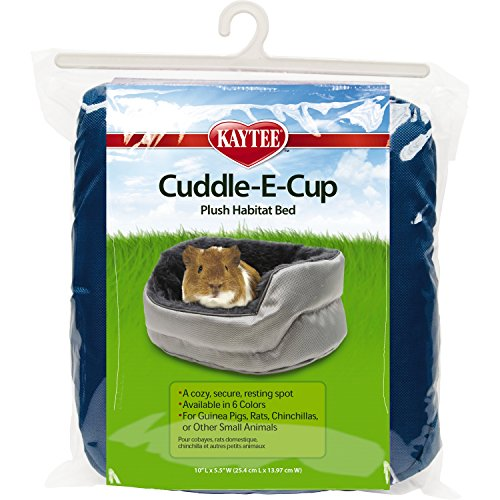 Kaytee Super Sleeper Cuddle E-Cup Bed for Small Animals, Colors Vary]()