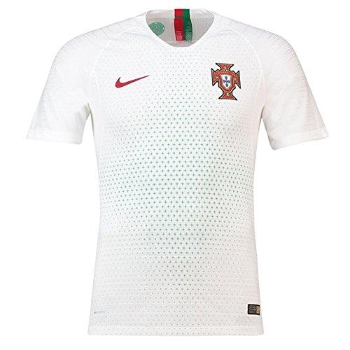 Nike Men's Son Of Force SL, WHITE/UNIVERSITY RED-METALLIC GOLD, 8.5 M US - Metallic Short Sleeve Jersey