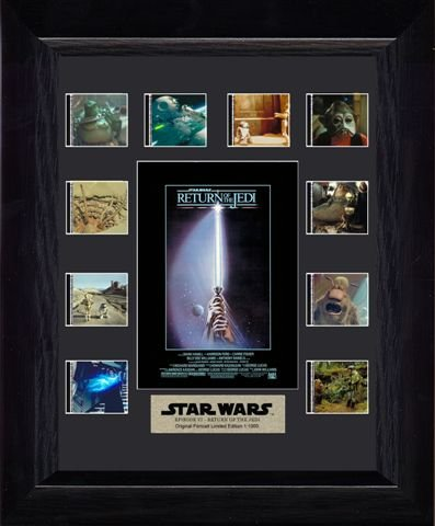 Star Wars Episode VI: Return of the Jedi Framed Mini Montage Film Cell Presentation