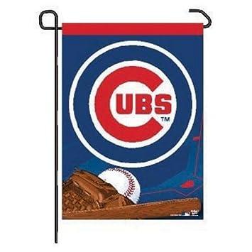 Amazoncom MLB Chicago Cubs WCR21279041 Garden Flag 11 x 15