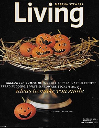 Martha Stewart Living Oct 2004 Halloween Pumpkins