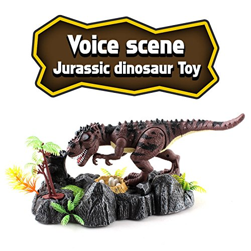Litzpy Voice Sensor Dinosaur Toy - Pen Holder For Desk