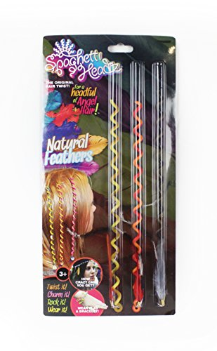 Price comparison product image SpaghettiHeadz™ Feathers 3 Pack