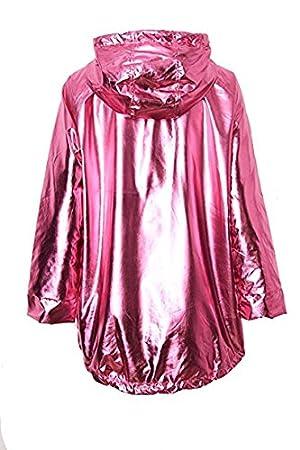 Hooded Outwear Womens Waterproof Rain Coat Jacket Long Sleeve Zip Up  Raincoat Minzhi 04f1481f5