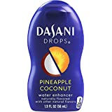 DASANI Drops, Pinepapple Coconut, 1.9 fl oz, 6 Pack
