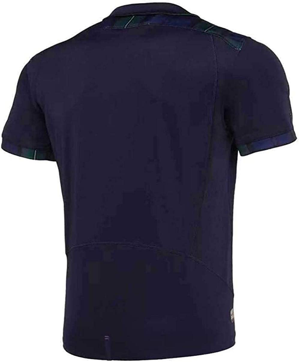 YTDHBLK Rugby Jersey World Cup Mens Rugby Shirt Rugby Fans T-Shirt Scotland/_S