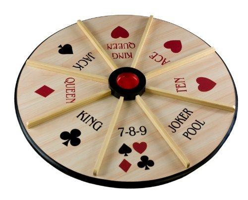Sterling 18'' Double Sided Michigan Rummy Board Card Game by Sterling
