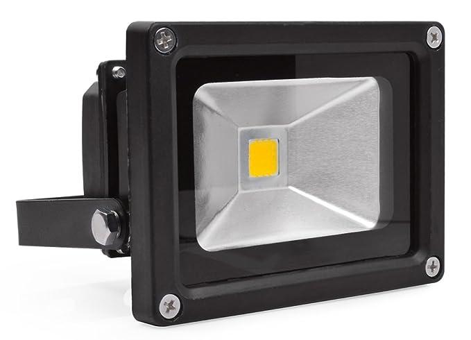 10W Blanco Frío Luz Foco Proyector LED Foco Exterior Foco de pared ...
