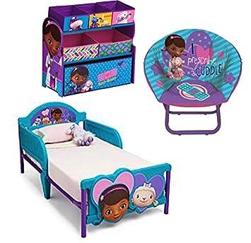 Disney Bundle Of 3: Doc Mcstuffins Multi Bin Toy Organizer, Doc Mcstuffins  Mini