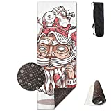 GirlApron Upgrade Yoga Mat, Cool Poker Playing Cards K with Ax Deluxe Yoga