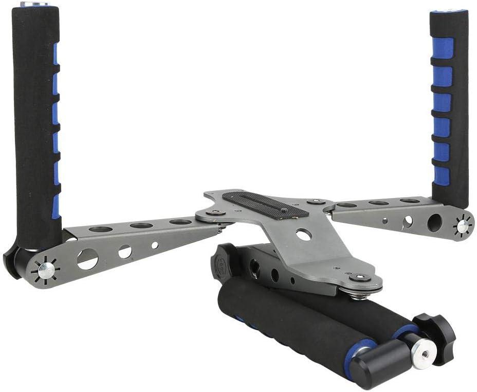 Bigking Cámara de los estabilizadores, Aparejo Plegable del Hombro de la cámara DSLR de la aleación de Aluminio