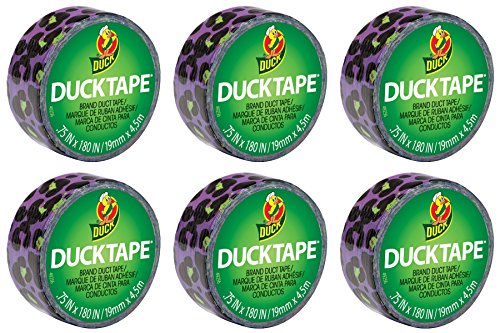 (MINI TINY SMALL Duck Brand Duct Tape Ducklings 6-Pack (Color Cheetah))