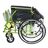 KHL Easy To Carry Light Weight Flip-Up Leg Rest Wheelchair
