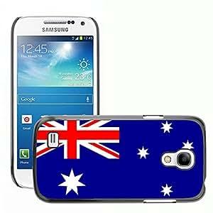 GoGoMobile Slim Protector Hard Shell Cover Case // V00001010 australia National Country Flag // Samsung Galaxy S4 Mini i9190