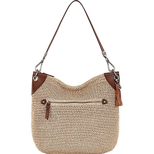 Crochet Hobo Bag - The Sak The Indio Crochet Hobo Bag, Bamboo Static