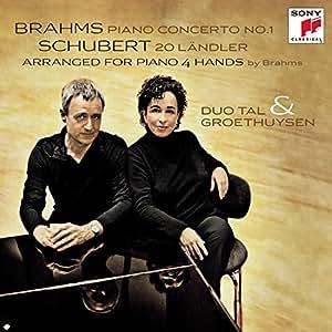 Brahms Klavierkonzert Nr.1, Schubert 20 L?Ndler