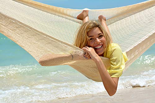 Hammocks Rada- Handmade Yucatan Hammock - Matrimonial Size Natural Color - 13ft Long Artisan...