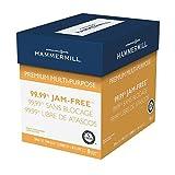 Hammermill 105810 Premium Multipurpose Paper, 24-lb, 8-1/2 x 11, White, 2500/Carton
