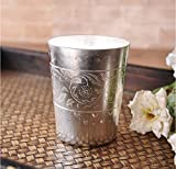 Thailand Hand Craft Handmade Thai Silver Wine Cup Water Bottle For Coffee Bar Home Tea Cup
