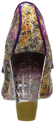 Irregular Choice Women's Hello Ha Closed-Toe Heels Purple (Purple/Gold) 100% authentic sale online clearance best wholesale cheap pay with visa buy cheap many kinds of brR9W