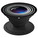 Faux Telephoto Lens for Smartphone - PopSockets Grip and Stand for Phones and Tablets
